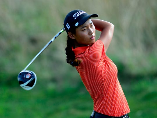 Julianne Lee shot a 75 to win the 15-18 White Division title during a York County Junior Golf Association event at Cool Creek Golf Club on Monday. YORK DISPATCH FILE PHOTO