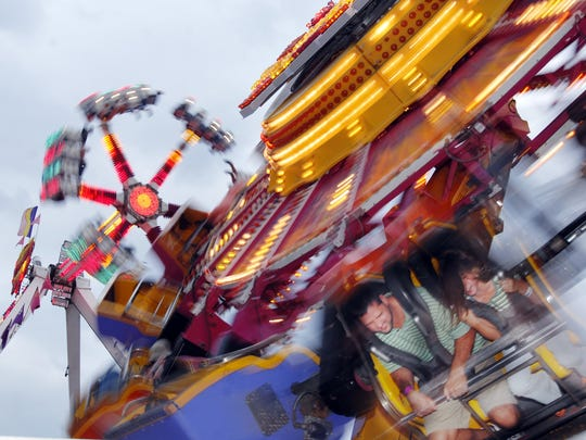 The Mississippi State Fair runs Oct. 4-15 at the Mississippi Fair Grounds in downtown Jackson.