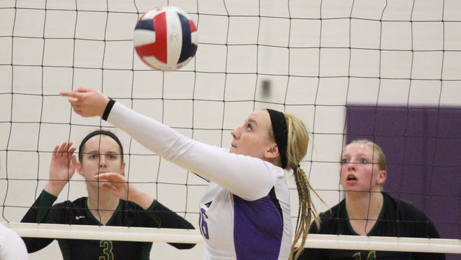 Devon Youles and the Mosinee volleyball team enter the week tied atop the Great Northern Conference standings with Medford and Tomahawk.