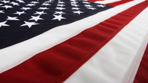 A stock image of an American flag.