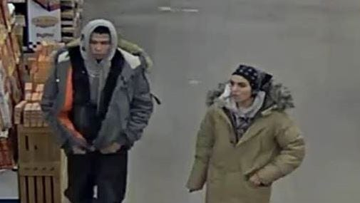 The Sioux Falls Police Department is looking for the public's help in identifying the subject(s) in reference to a theft. If you know the subject(s) please contact CrimeStoppers at 367-7007 or call the Sioux Falls Police SFPD CC#18-80000015.