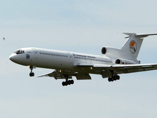 EPA (FILE) RUSSIA AIRCRASH PLANE SOCHI DIS TRANSPORT ACCIDENT RUS
