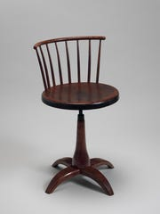 The Revolving Chair; American, Shaker, 1840-70.