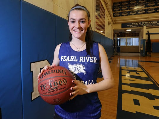 Erin Clinton, Pearl River scholar/athlete