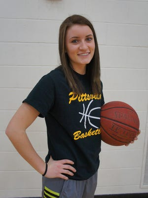 Pittsville senior Jenna Hughes is a three-sport athlete for the Panthers.