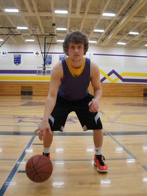 Pittsville senior point guard Aron Masanz and the rest of the Panthers are playing in the D5 sectional tournament for the first time since 2002.