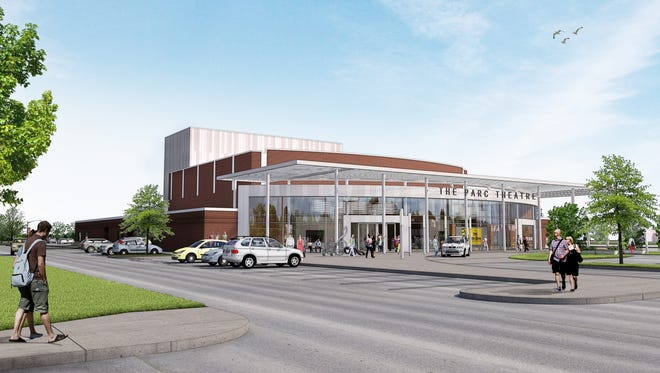 This is a rendering of what the new performing arts center would look like.