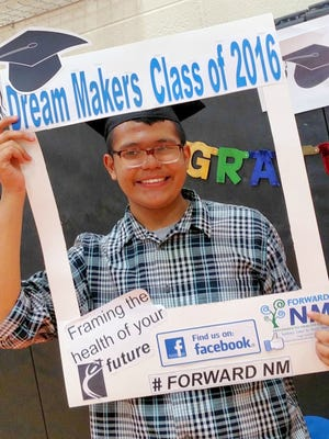 La Plata Middle School student Marcos Martinez stated his favorite part of Dream Makers was visiting the UNM campus.