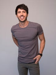 "Morgan Evans' debut U.S. single, ""Kiss Somebody,"" was"