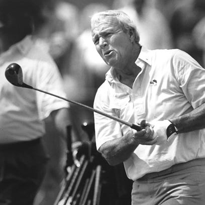 Legendary Arnold Palmer played in both U.S. Senior