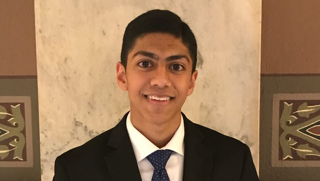 Samarth Sheth was the winner of the annual Passing the Torch award at the Dr. Martin Luther King, Jr. Indiana Holiday Celebration.