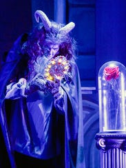 Newcomer Justin Moore stars as the Beast in the Candlelight