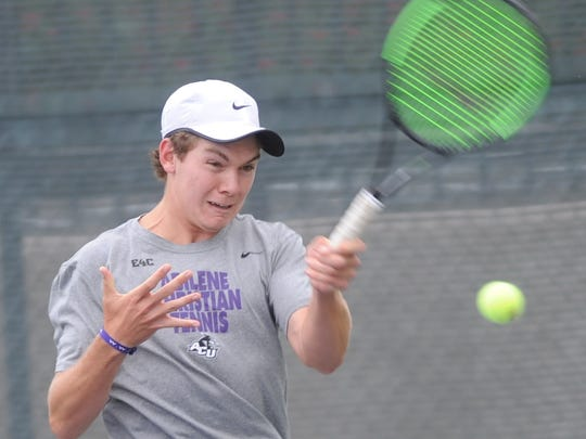 Josh Sheehy chose ACU over Texas A&M coming out of high school, and he's happy with the decision to play tennis with the Wildcats.
