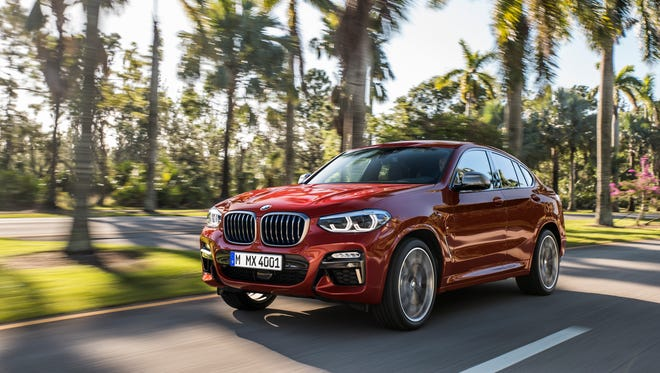 This is the latest model update -- the BMW X4 -- set to be released from the BMW Manufacturing plant in Greer, S.C. The new X4s will start rolling off the assembly line in March 2018.