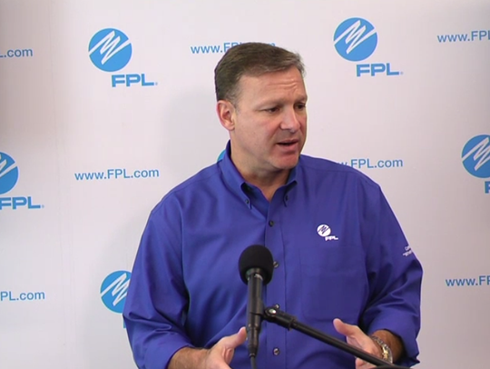 FPL CEO Eric Silagy on Friday warns up to nine million