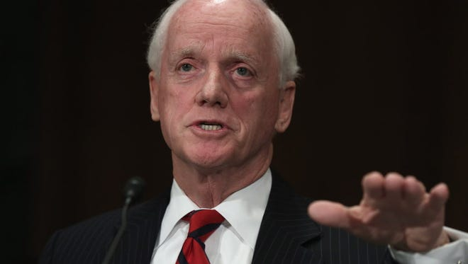 Frank Keating is president and CEO of the American Bankers Association. He served as governor of Oklahoma from 1995 to 2003.