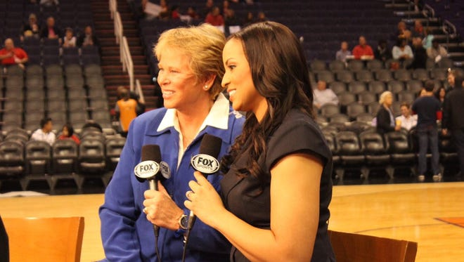 Ann Myers Drysdale and Stephanie Ready made NBA history on Wednesday night.