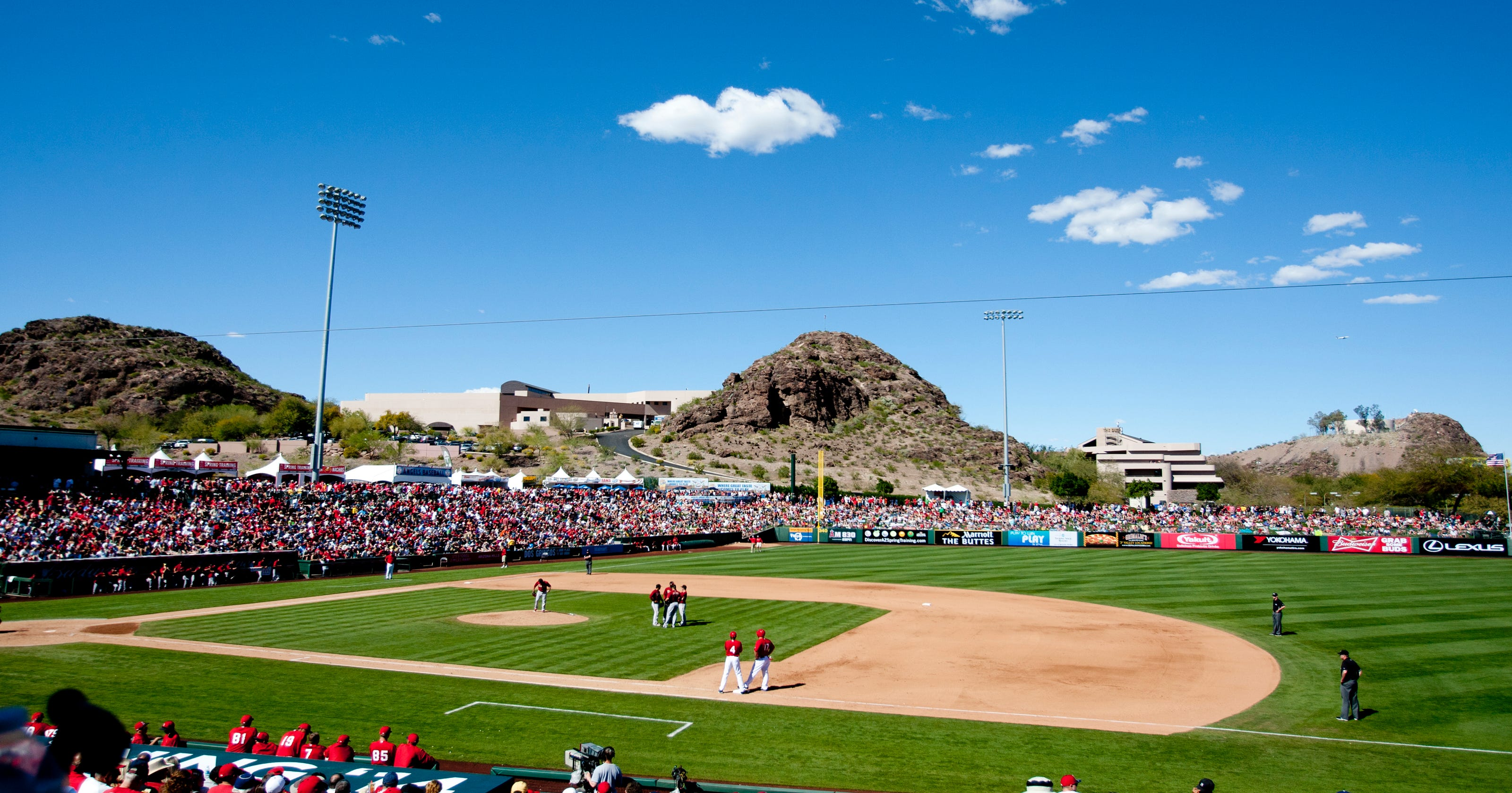 los angeles angels 2015 spring training schedule