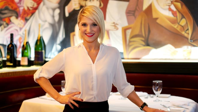 Britney Ruby-Miller, director of operations at Jeff Ruby Culinary Entertainment.