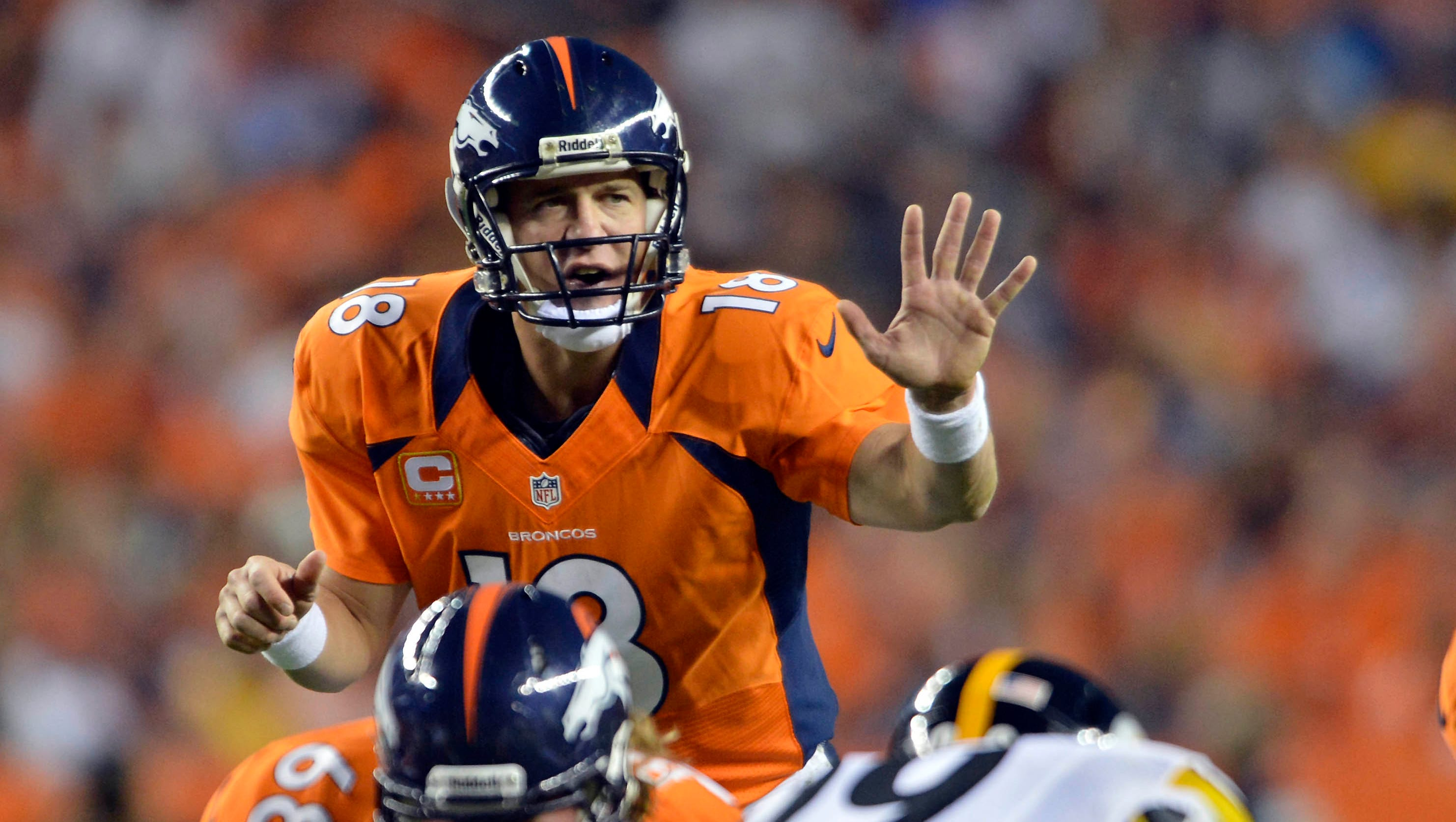 5. Peyton Manning, Denver Broncos