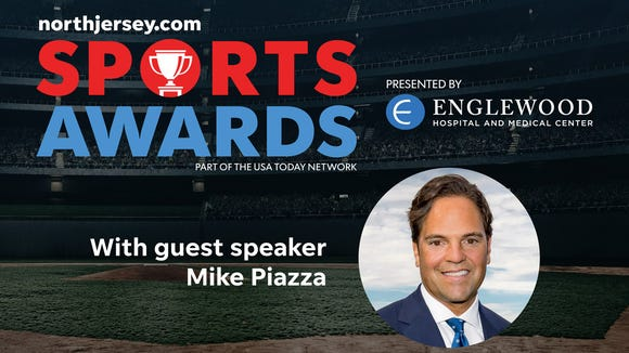 Mets' Hall of Fame catcher Mike Piazza is the guest speaker at the June 14 NorthJersey.com Sports Awards