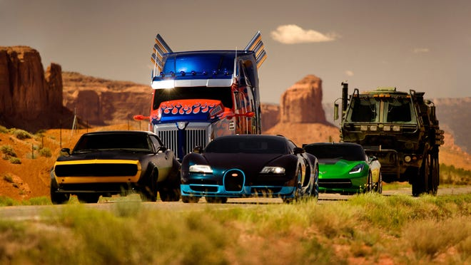 """The Autobots in the film, """"Transformers: Age of Extinction,"""" from Paramount Pictures."""