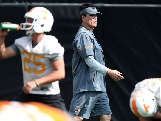 Mike Canales, University of Tennessee's new quarterback