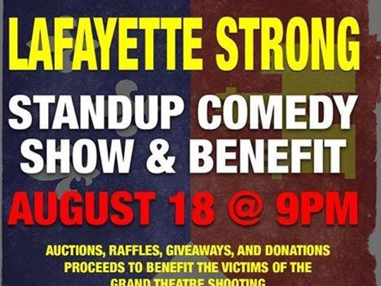 Lafayette Strong: A Standup Comedy and Benefit Show