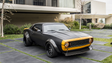 This stunt car was used to portray Bumblebee in the