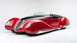 This custom classic car, the last designed by Boyd