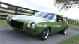 "The ""Grinch,"" a 1970 Camaro built by Ringbrothers,"