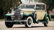 This classic Cadillac features a V12 engine and went