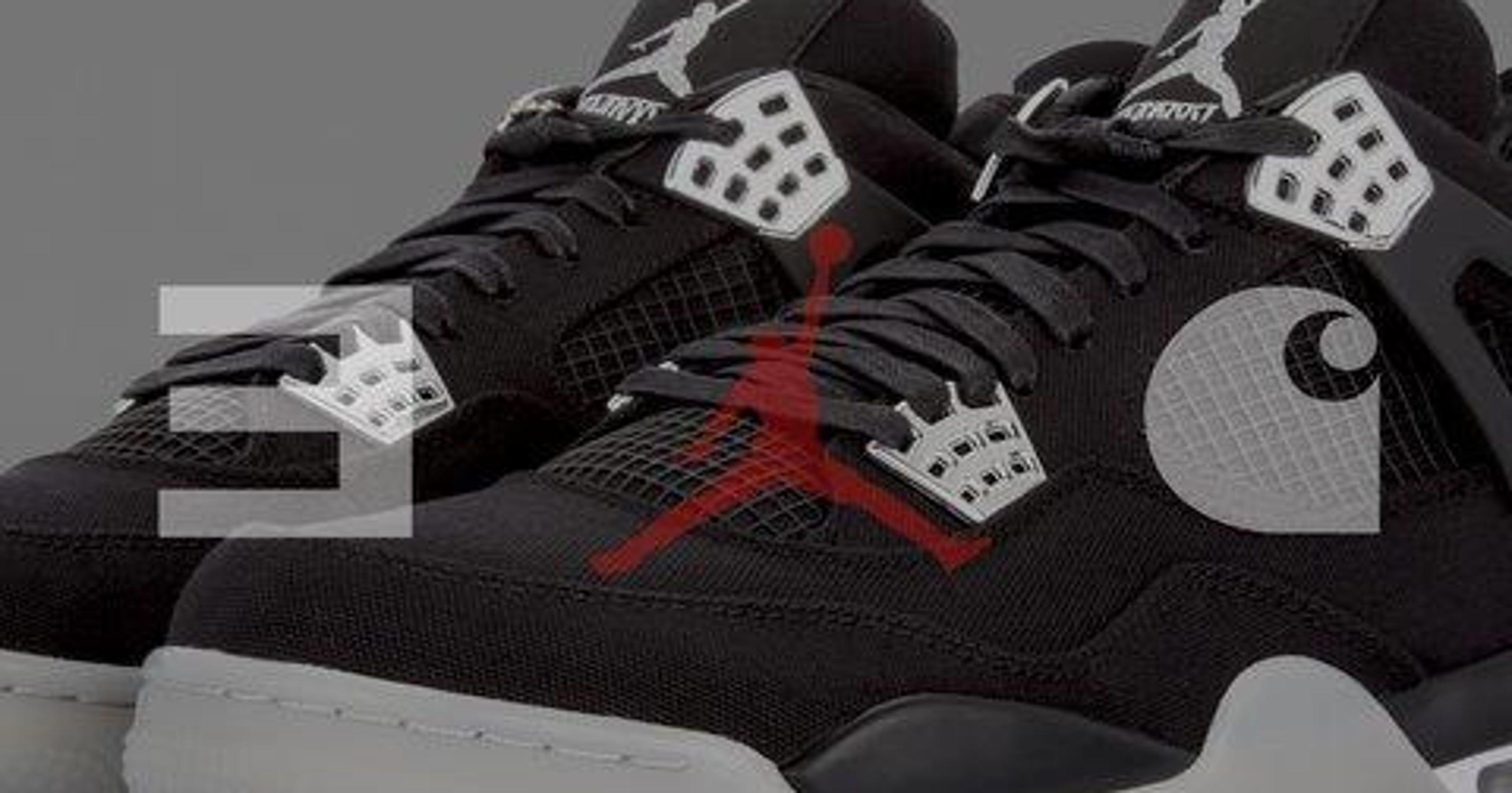 42aae825c46 Eminem s Carhartt-branded Air Jordans auction under way