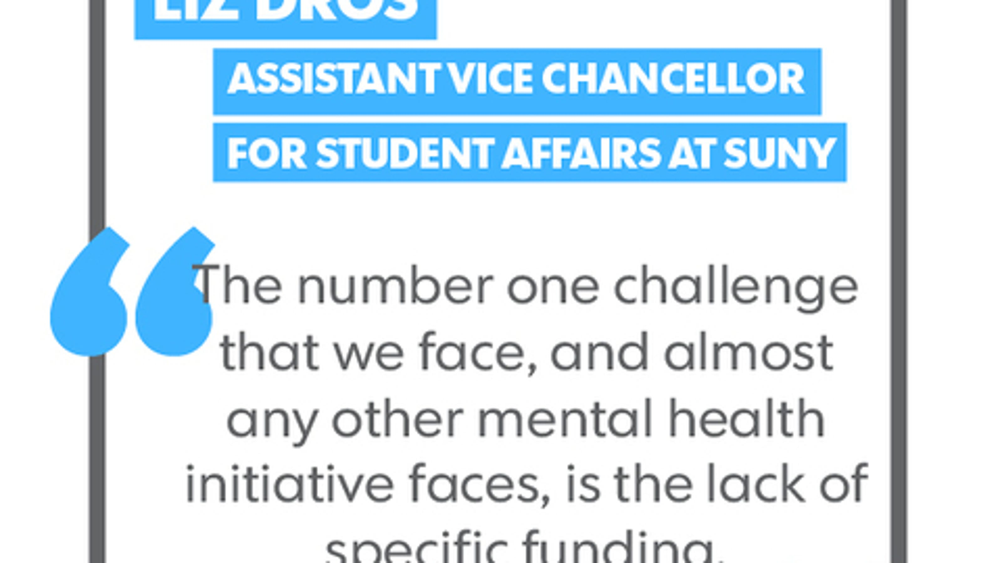 More And More Students Need Mental Health Services But Colleges