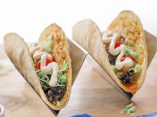 Pop-Tarts Tacos use chopped Cookies & Creme Pop-Tarts