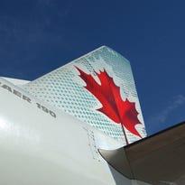 Air Canada's logo.