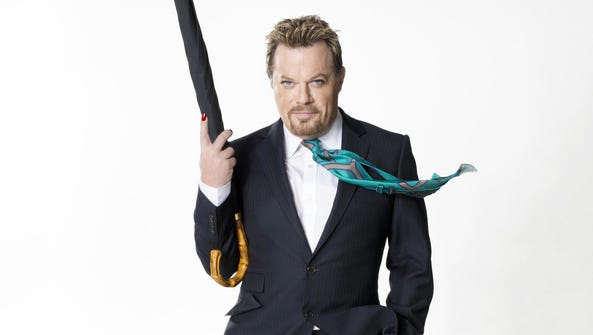 Comedian Eddie Izzard brings his Force Majeure tour