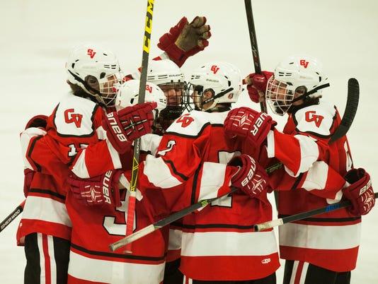 CVU vs. Rice Boys Hockey 01/23/16