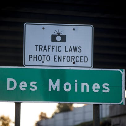 Editorial: Des Moines goes too far in collecting traffic-camera fines