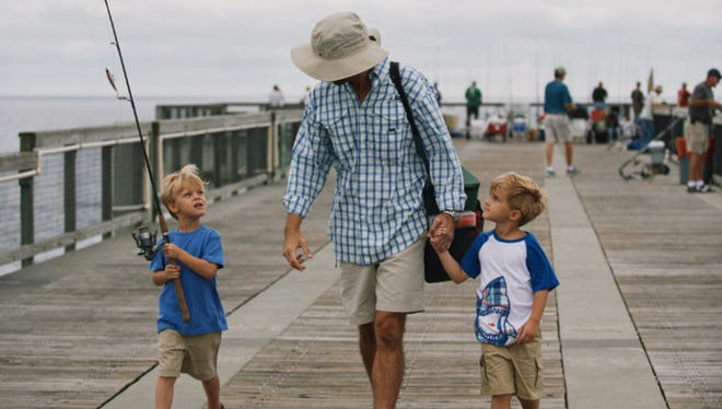 """Reel in some fun during """"Take a Kid Fishing"""" Oct. 1  as part of the 13th annual Beaches to Woodlands Tour."""