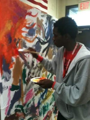 """Nakia is an amazingly talented kid. We have very much enjoyed working with him and watching him grow as an artist,"" said Robin Jones, director of Bossier Arts Council."