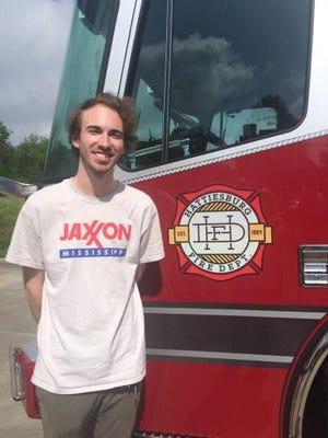 Cody Bass and Hattiesburg Fire Department logo