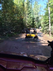 The Harrison Hills area north of Merrill in Lincoln County has more than 50 miles of groomed ATV/UTV trails.