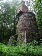 The Codorus Furnace, built in 1765, is the oldest remaining