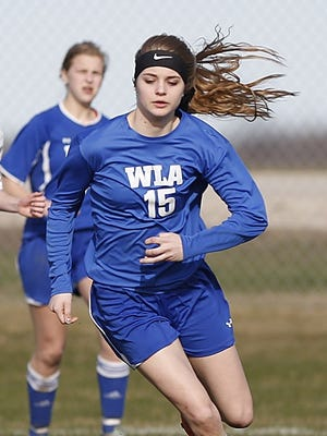 Winnebago Lutheran's Kyra Wiechman was the Flyway Conference player of the year last season and scored 41 goals for the Vikings.