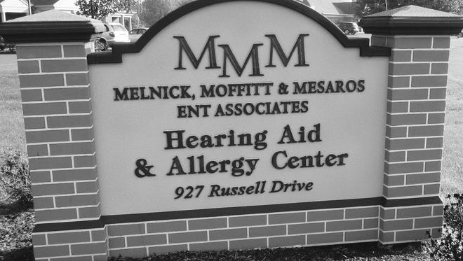 Submitted Melnick, Moffitt & Mesaros ENT Associates, located at 927 Russell Drive, Lebanon.