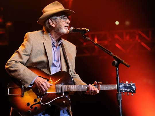 Don Williams performs in 2012. The country singer died in 2017.