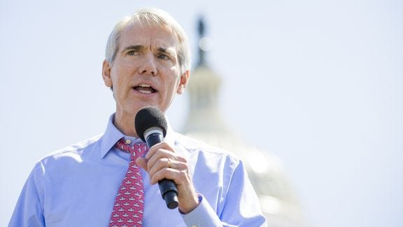 The refusal of Sen. Rob Portman, R-Terrace Park, to repudiate Donald Trump is concerning, a writer says.