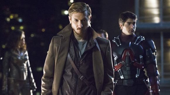 "Arthur Darvill plays time traveler Rip Hunter in CW's ""Legends of Tomorrow."""