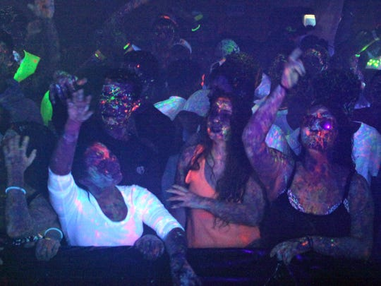 A Glowrage paint party returns to the Warehouse this